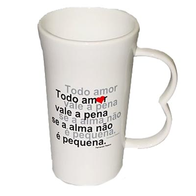 Caneca de Porcelana Big One