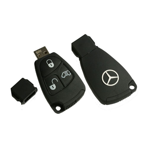 Chaveiro do Mercedes com Pen Drive